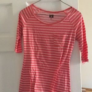 Red and white stripe top from BDG